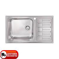 Кухонная мойка Apell Melodia MLG861IRBC RIGHT 86*50