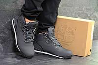 Мужские зимние кроссовки в стиле Timberland, серые 42 (27 см)