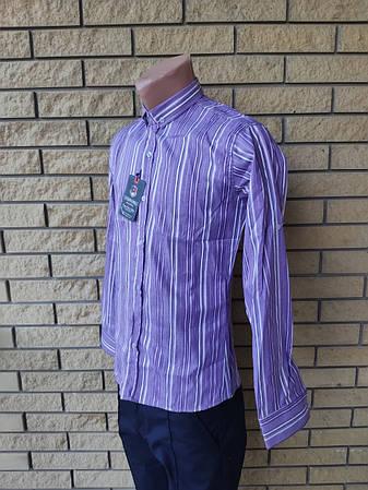 Рубашка мужская коттоновая брендовая высокого качества ARAMIS, Турция, фото 2