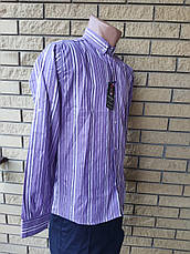 Рубашка мужская коттоновая брендовая высокого качества ARAMIS, Турция, фото 3
