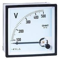 ВольтметрNP72-V500V(72х72мм)