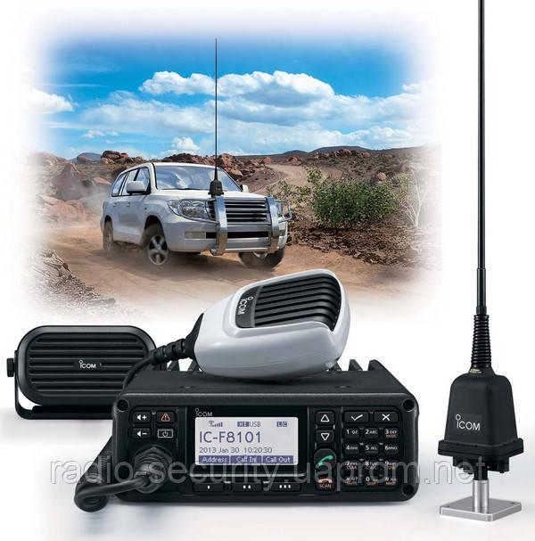 Радиостанция базовая КВ-трансивер ICOM IC-F8101