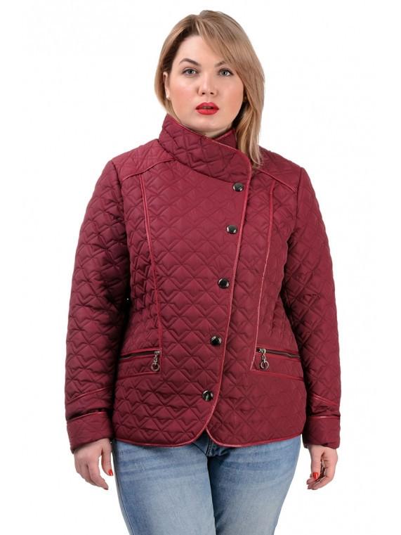 Куртка осенняя 231 бордо (50-56)