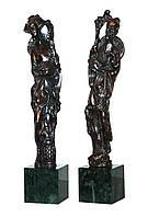 Бронзовые статуэтки (h-32cm)