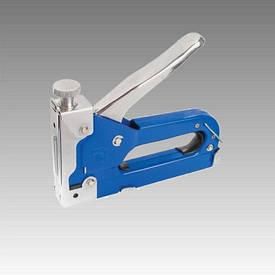 Механический скобозабивной пистолет под скобу 11.3*0.70*4-14мм, Intertool