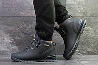 Мужские зимние кроссовки в стиле Timberland, тёмнo-cиние 46 (30 см)