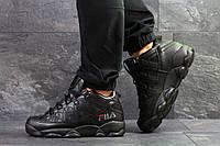 Мужские зимние кроссовки в стиле Fila, тёмнo-cиниее 41 (26 см)