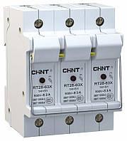 Держатель предохранителя NRT28-63X3P14x51base(EU)