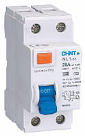 Диф. выключатель NL1-63 2P 25A 30mA AC 6kA DB