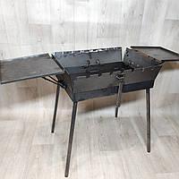 Мангал 3 мм раскладной с столиком на 7 шампуров