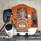 Бензокоса Урал УБТ-6700 ніж 1 1 котушка мотокоса, фото 2