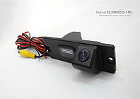 Штатная камера заднего вида  Mitsubishi Pajero, Zinger, Linyue, Freecar (Falcon SC29HCCD-170-R)