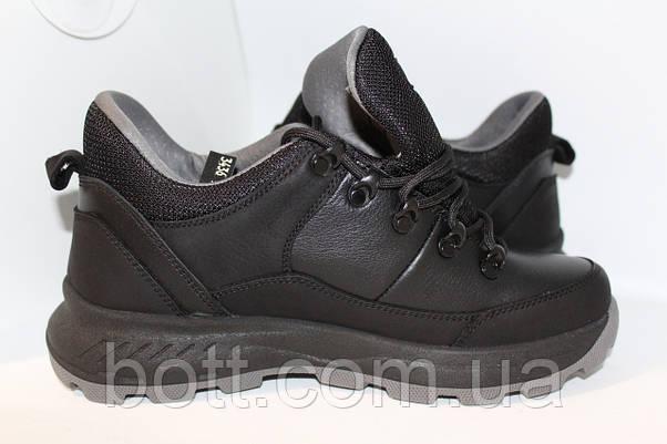 Кожаные осенние кроссовки, фото 2