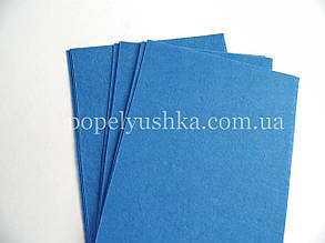 Фетр 1мм китайський 20*30 см світло-синій