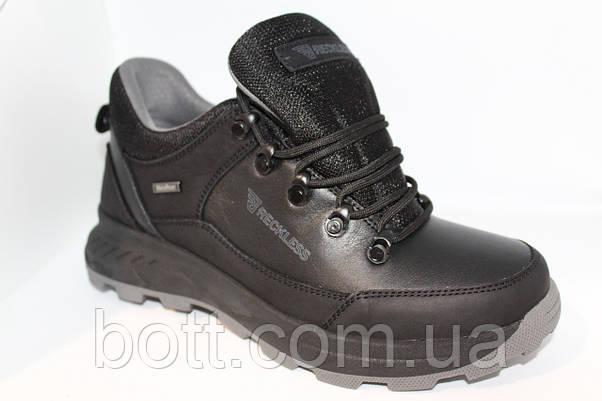 Кожаные осенние кроссовки, фото 3