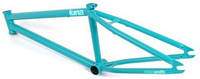 "BMX запчасти:Рамы:FLYBIKES :Рама BMX FLYBIKES LUNA 21"" flat greenish blue 2011"