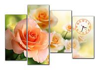 Часы модульные настенные, фотопечать 30x65 30x84 30x60 30x60 см / cl - М 161