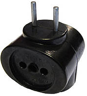 Тройник 6А карболитовый чёрный ст, фото 1
