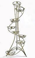 Подставка для цветов и вазонов S 08 спираль (на 8 вазонов)