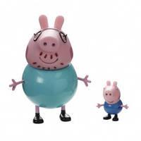 Детский набор Свинка Пеппа и ее друзья Джордж и Папа