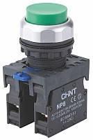 КнопкавыступающаяNP8-GN/2Черный(МК)