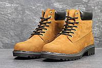 Мужские зимние ботинки в стиле Timberland, коричневые 42 (28 см)