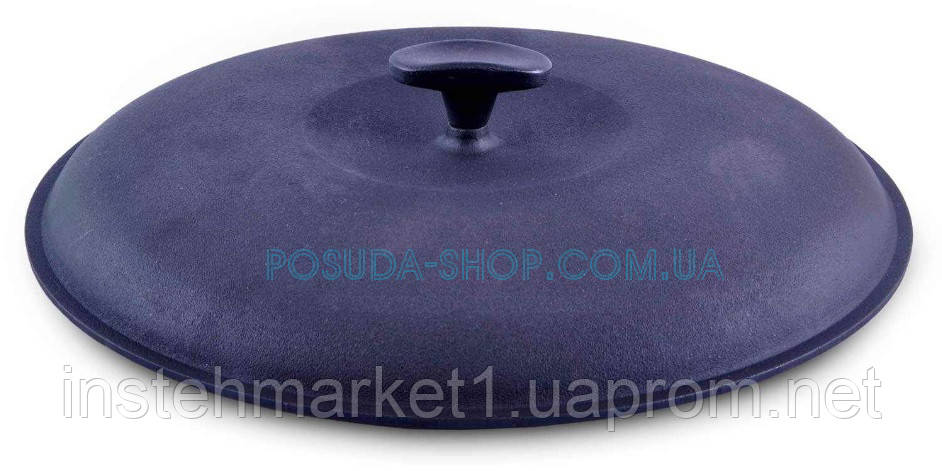 Кришка чавунна Сітон, не емальована. Діаметр 500мм.