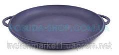 Крышка-сковорода чугунная Ситон, не эмалированная. Диаметр 200 мм.