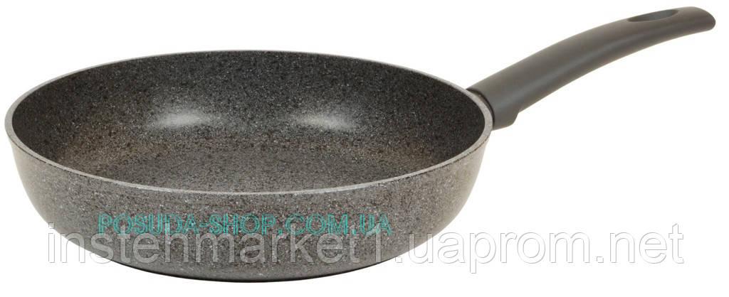 Сковорода Биол Граніт грей з антипригарним покриттям 26134П