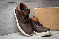 Мужские зимние ботинки в стиле Timberland Groveton, коричневые 46 (29 см)