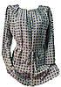 Женская блузка полу батал