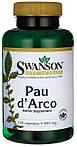 По Дарко Pau D'Arco 500мг 100 капсул, Swanson