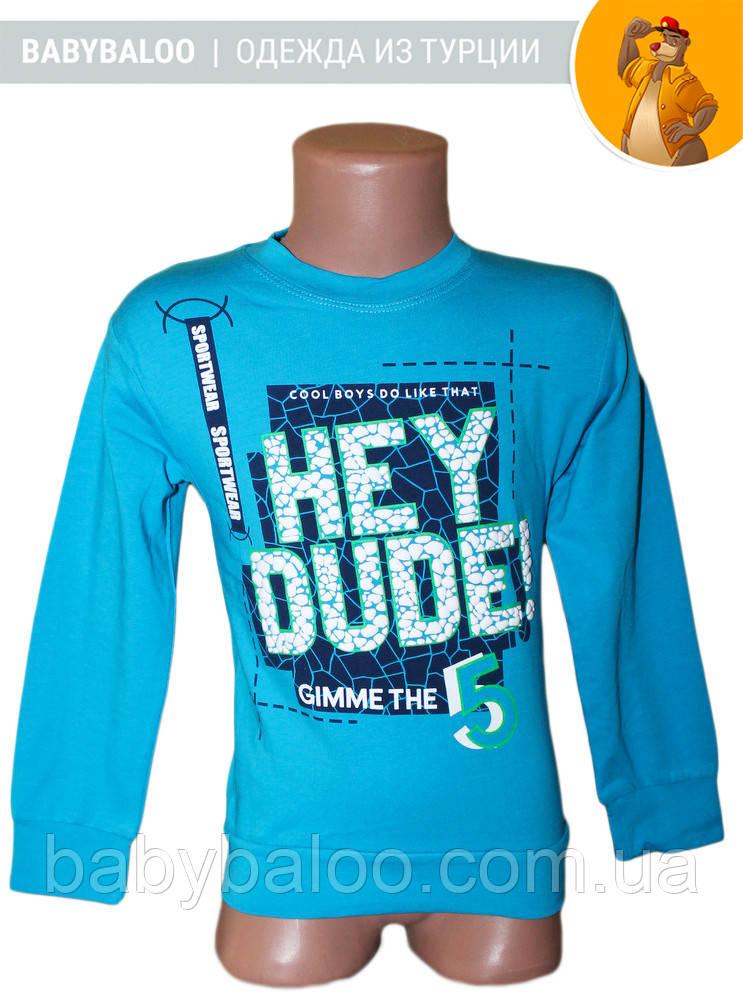 "Батник  подросток ""Hey DUDE"" (от 5 до 8 лет)"