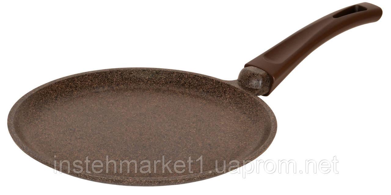 Сковорода Биол Граніт браун млинців з антипригарним покриттям 22 см 22083П