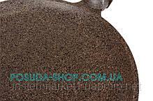 Сковорода Биол Граніт браун млинців з антипригарним покриттям 22 см 22083П, фото 2