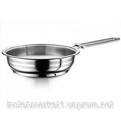 Сковорода из нержавеющей стали 18 см Hascevher Gastro 3TVDGR0018004