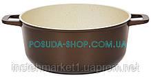 Каструля Класик Декор з антипригарним покриттям і скляною кришкою 3 л К3071ПС, фото 2