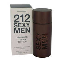 Carolina Herrera 212 Sexy Men туалетная вода 100 ml. (Тестер Каролина Эррера 212 Секси Мен)