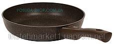Сковорода Биол Гранит браун с антипригарным покрытием и съемной ручкой 28 см 28133ПС, фото 3