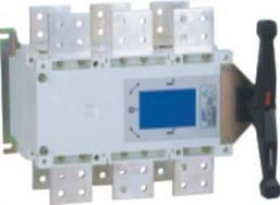 Перекидной рубильник NH40-1000/3CSW, 3P, 1000А, I-0-II, выносная рукоятка