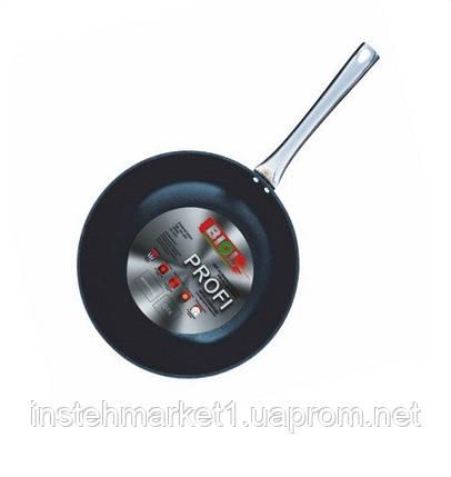 Сковорода WOK Биол Profi алюминиевая с антипригарным покрытием 28 см 2818Н, фото 2
