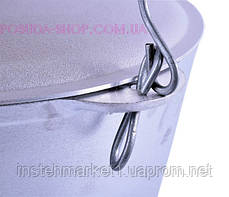 Казан 40 л Биол литой алюминиевый с крышкой и дугой К4000т, фото 2