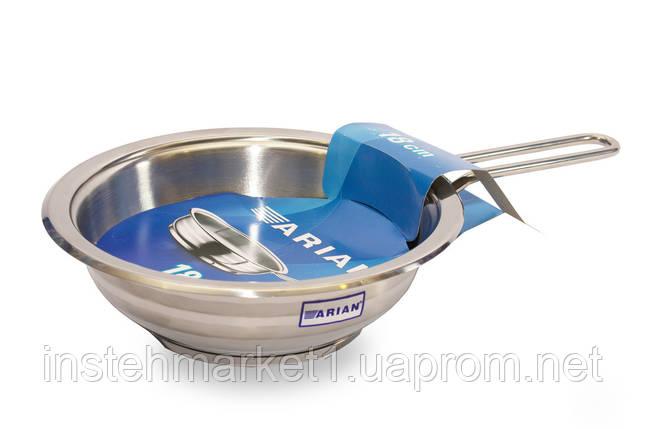 Сковорода из нержавеющей стали Arian Gastro 28 см 4TVCLK0028001, фото 2