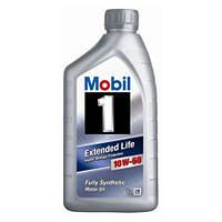 Моторное синтетическое масло MOBIL 1 Extended Life 10W60 1L (ACEA A3/B3/B4, VW 501.01/505.00, MB 229.1)
