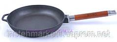 Сковорода Биол Оптима чугунная со съемной ручкой 24 см 0124