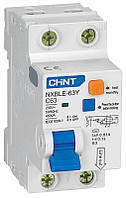 Диф. авт. выключатель NXBLE-63Y 1P+N 4.5kA 0.03A C10A1