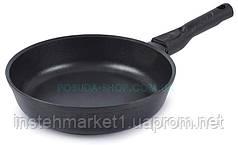 Сковорода с тефлоновым покрытием и съемной ручкой Биол Классик 24 см 24071П
