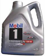 Моторное синтетическое масло MOBIL 1 Extended Life 10W60 4L (ACEA A3/B3/B4, VW 501.01/505.00, MB 229.1)