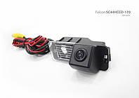Штатная камера заднего вида VW  Golf 6 (Falcon SC44 НCCD-170)