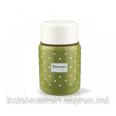 Термос для еды Fissman оливковый 350мл
